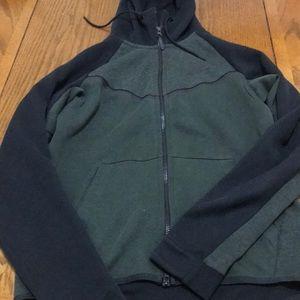 Nike tech fleece green/black with pants bundle
